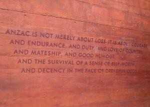 ANZAC Plaque