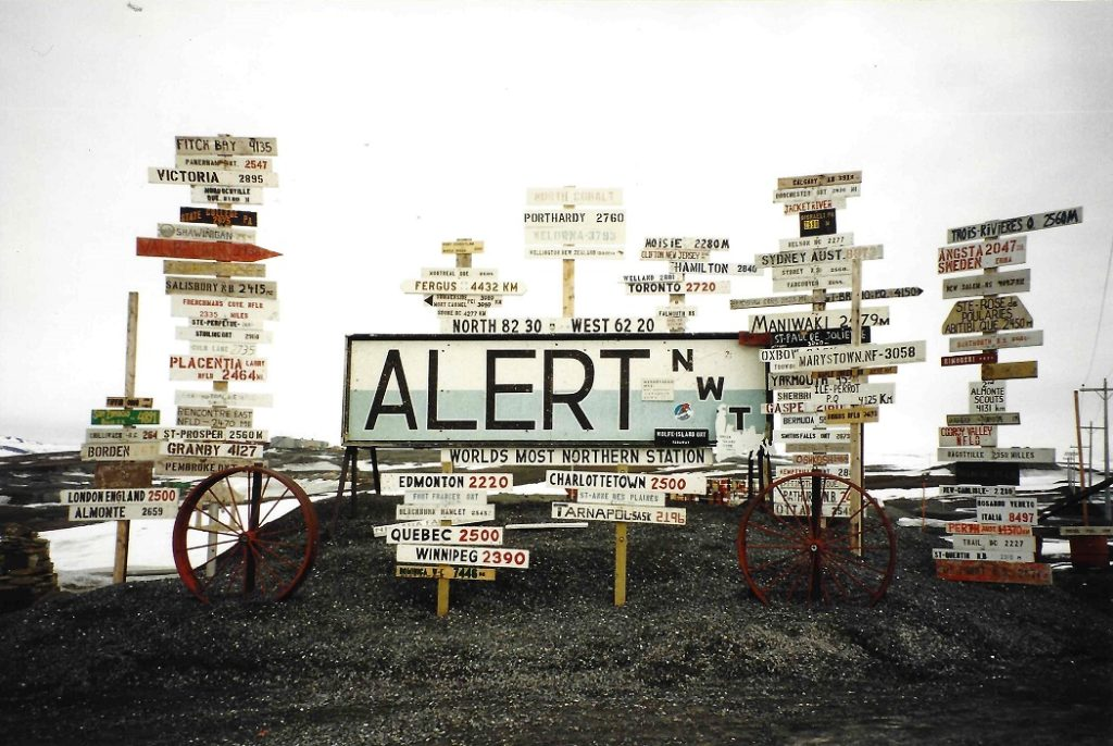 CFS Alert sign, full-frame.
