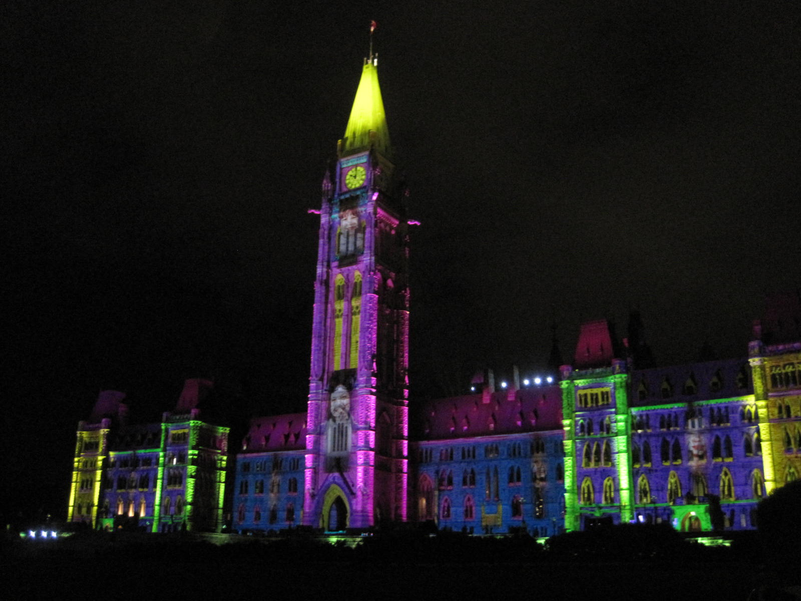 National Treasure #13: Parliament Hill Sound and Light Show