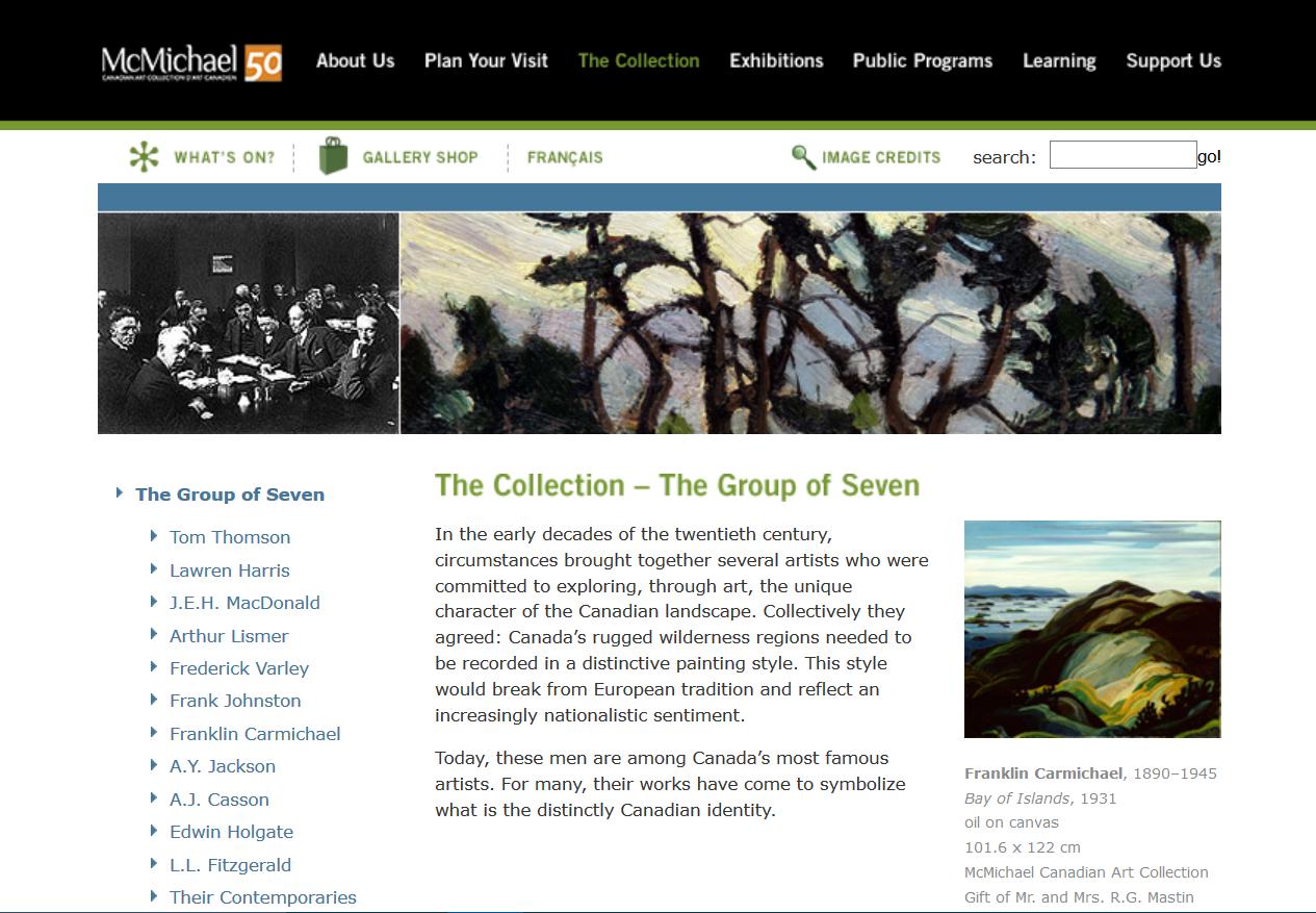 National Treasure #52: Group of Seven
