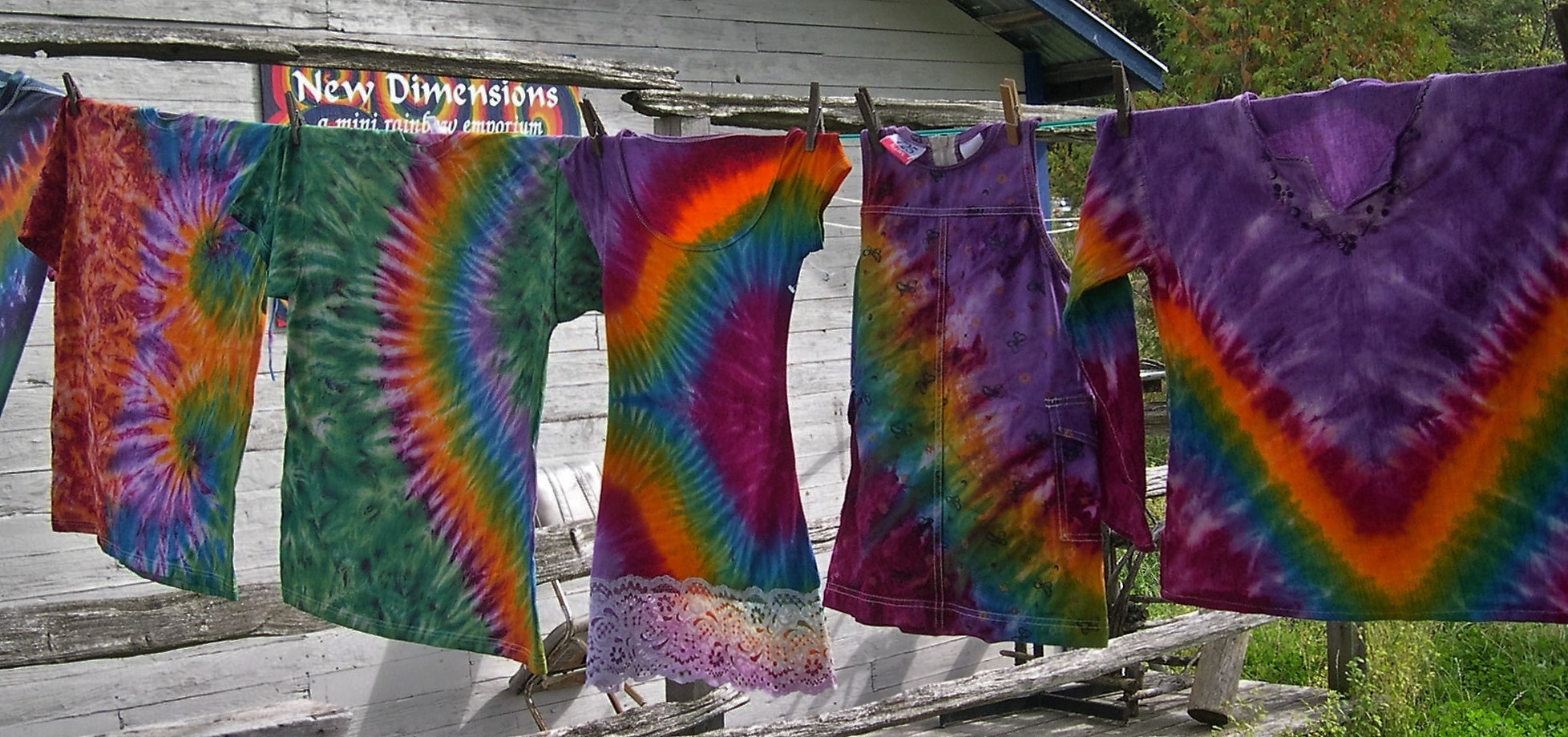 Tie-Dyed Clothes, Burnstown ON