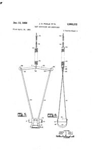 Patent application for Jolly Jumper
