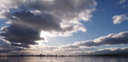 Clouds, Comox Harbour
