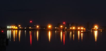 Night Lights, Comox BC