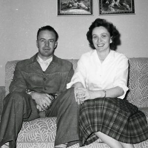 Photo of my parents, 1956