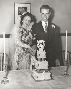 Wedding photo from May 19, 1945