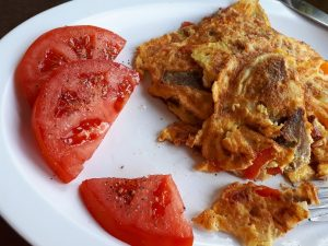 Ripe tomato slices, as they should be