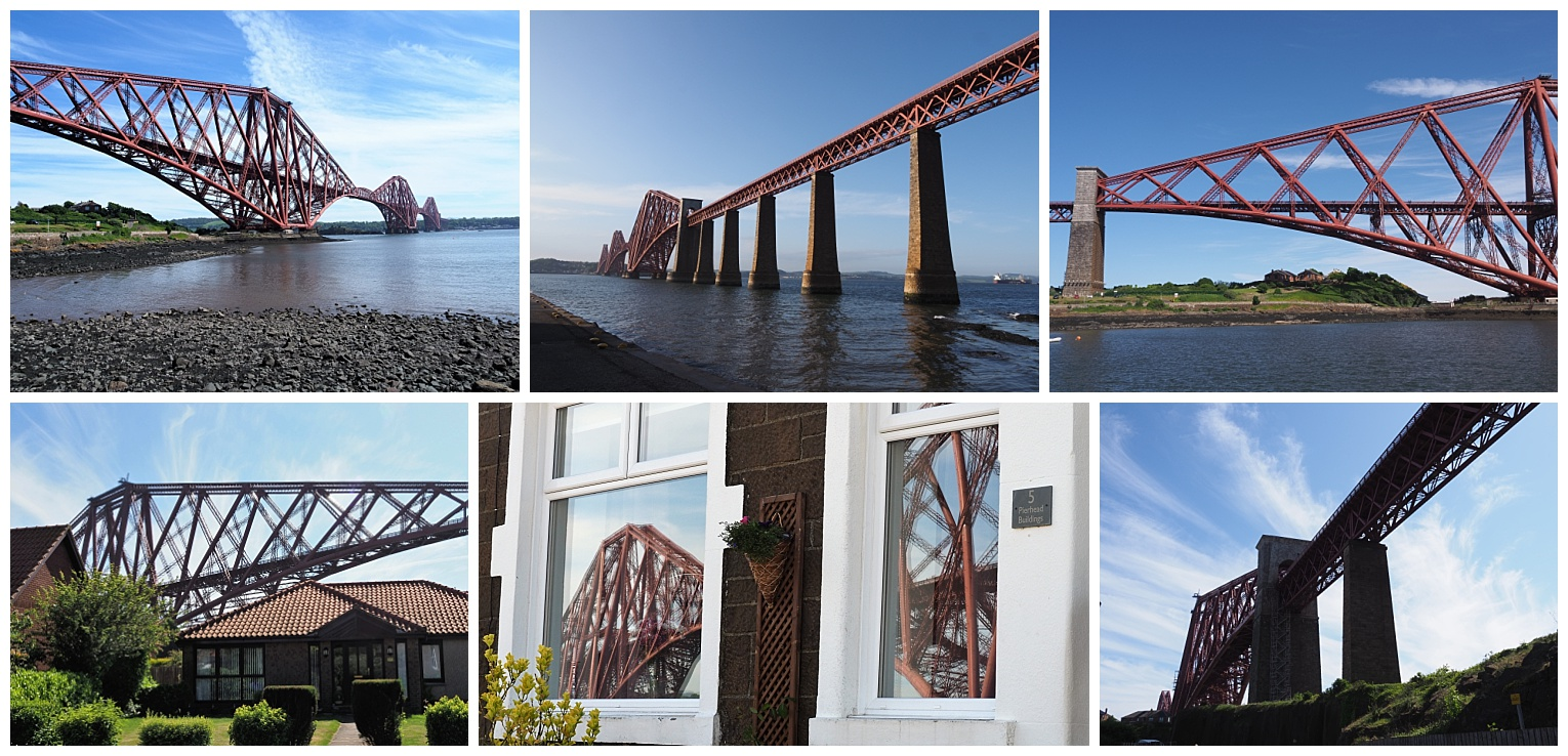6 views of the 1880s rail bridge over the Firth of Forth