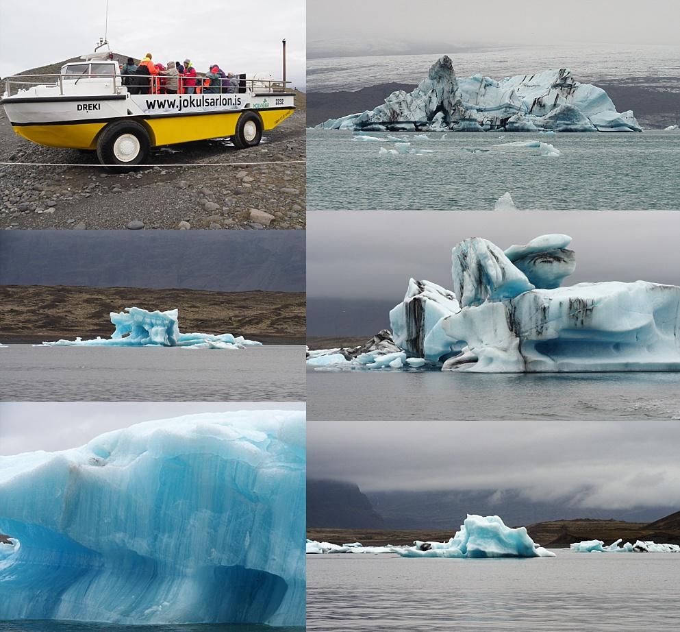Icebergs in Glacier Lagoon.