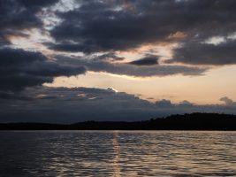 Sunrise at Lake Clear.