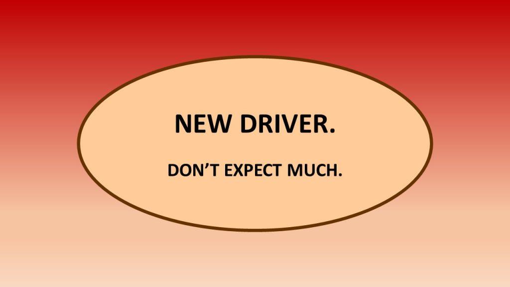 New-driver bumper sticker