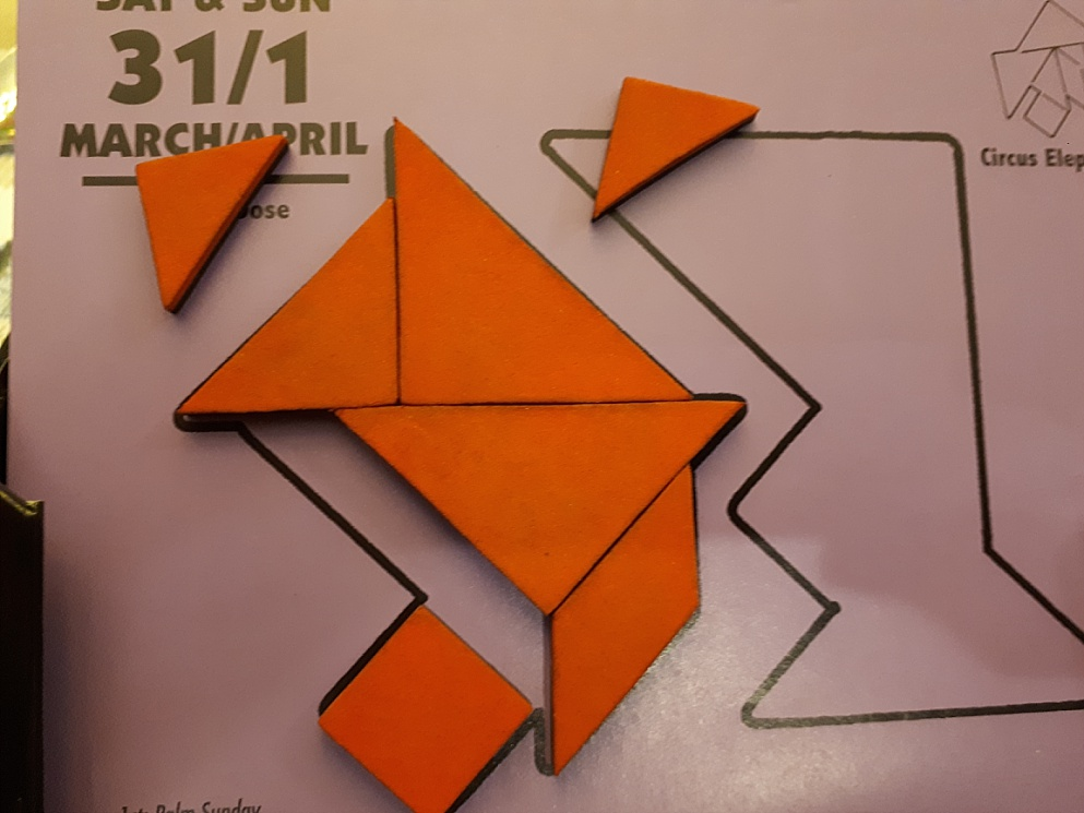 Tangram in process in one failure mode