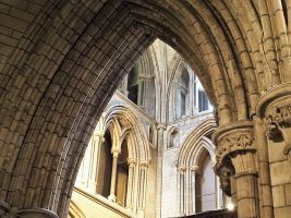 Soaring arches of St. Patrick's Cathedral, Dublin