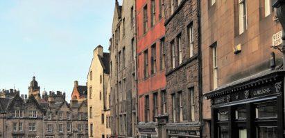 Street Scenes, Edinburgh