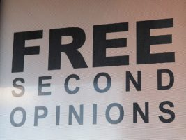 Sign in window: Free Second Opinions