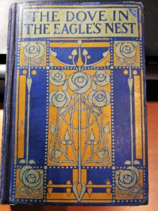 Book cover of The Dove in the Eagles Nest