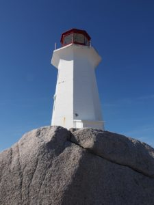 Peggy's Cove Lighthouse - close-up