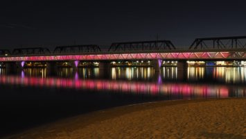Rail Bridge over Salt River, Tempe AZ