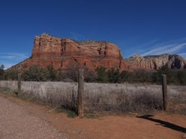 Courthouse Butte from distance