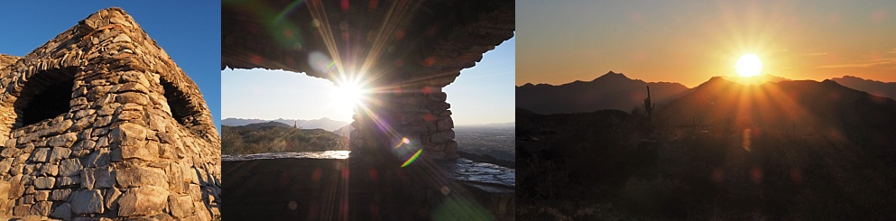 Collage of Dobbin's Lookout photos