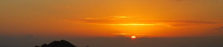 Sunset at St. Thomas