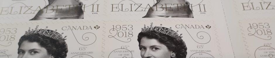 Booklet of Jubilee stamps for Queen Elizabeth